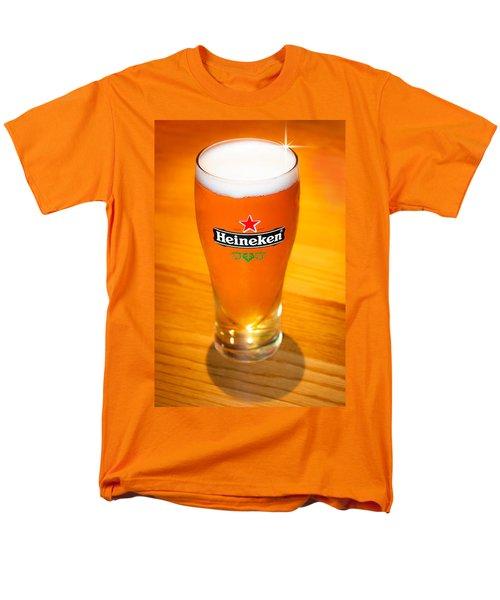 A Cold Refreshing Pint Of Heineken Lager Men's T-Shirt  (Regular Fit) by Semmick Photo