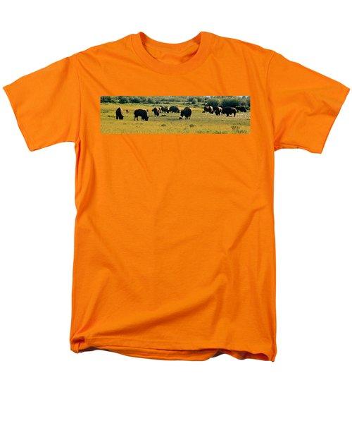 A New Beginning Grand Teton National Park Men's T-Shirt  (Regular Fit) by Ed  Riche