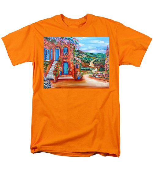A Sunny Day In Chianti Tuscany Men's T-Shirt  (Regular Fit)