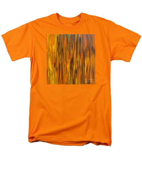 Abstract Fireside Men's T-Shirt  (Regular Fit) by Susan  Dimitrakopoulos