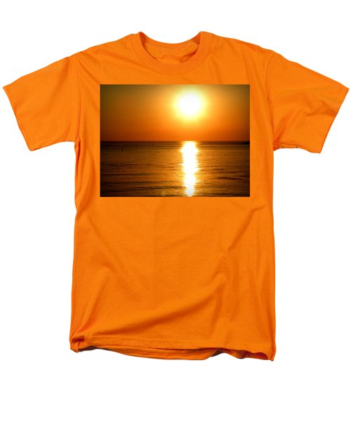 Men's T-Shirt  (Regular Fit) featuring the photograph Aegean Sunset by Micki Findlay