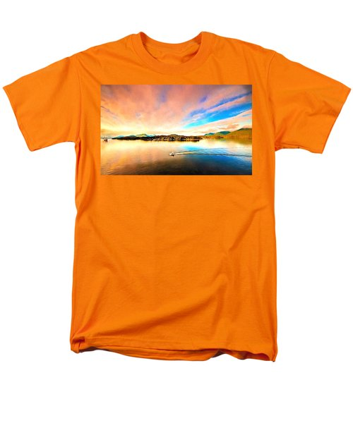 Alaska Men's T-Shirt  (Regular Fit) by Bill Howard