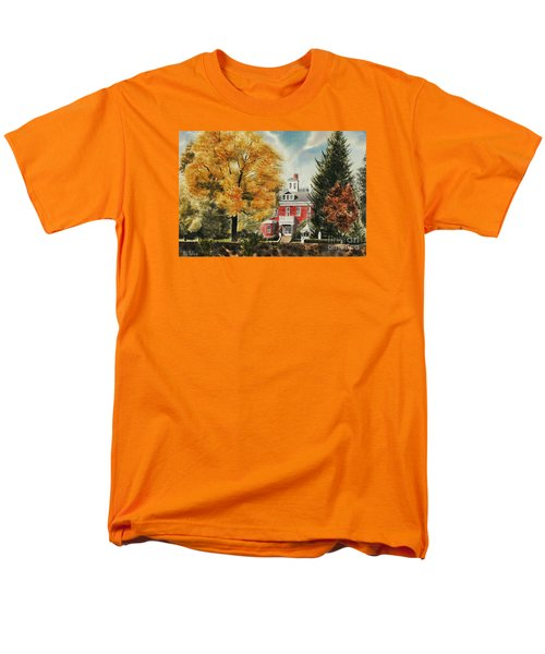 Antebellum Autumn Ironton Missouri Men's T-Shirt  (Regular Fit) by Kip DeVore