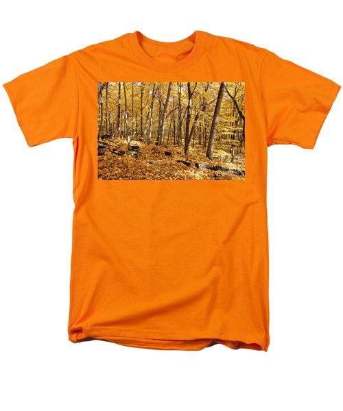 Arboretum Trail Men's T-Shirt  (Regular Fit) by Steven Ralser