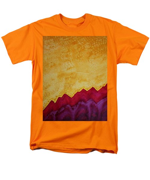 Ascension Original Painting Men's T-Shirt  (Regular Fit) by Sol Luckman