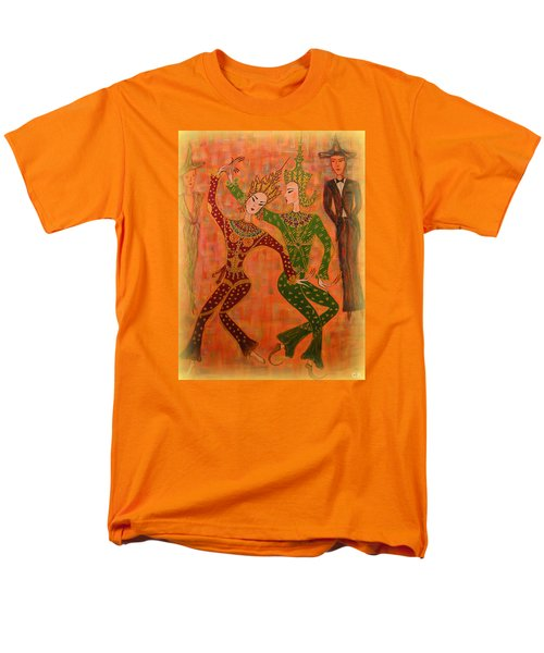 Asian Dancers Men's T-Shirt  (Regular Fit) by Marie Schwarzer
