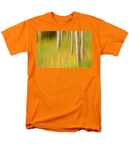 Aspen Abstract Men's T-Shirt  (Regular Fit) by Ronda Kimbrow