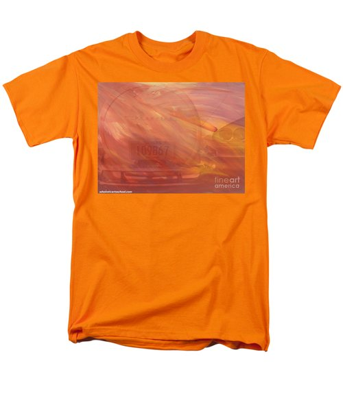 Men's T-Shirt  (Regular Fit) featuring the painting Asteroid by PainterArtist FIN