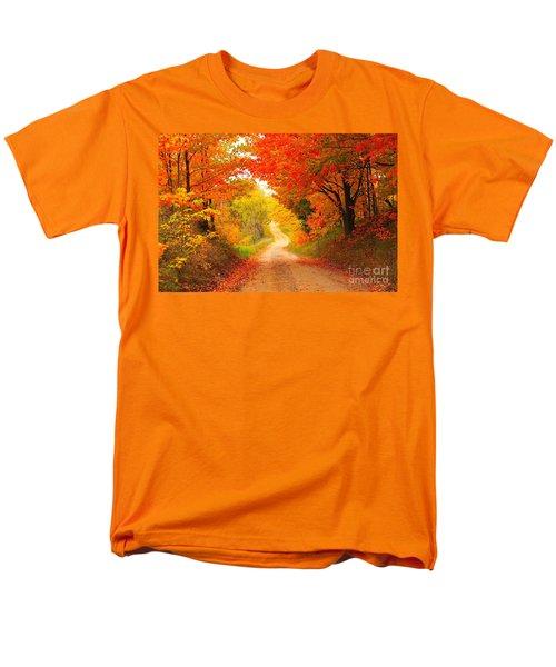 Autumn Cameo 2 Men's T-Shirt  (Regular Fit) by Terri Gostola