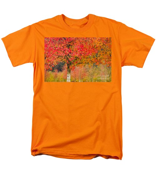 Autumn Fire Men's T-Shirt  (Regular Fit) by Sonya Lang