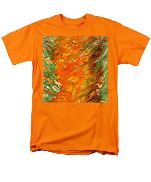 Men's T-Shirt  (Regular Fit) featuring the painting Autumn Wind by Joan Reese