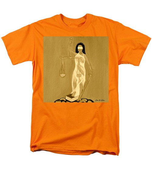 Men's T-Shirt  (Regular Fit) featuring the painting Balance 3 by Lorna Maza