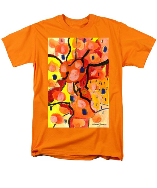 Men's T-Shirt  (Regular Fit) featuring the painting Balloons At Mid-day by Stephen Lucas