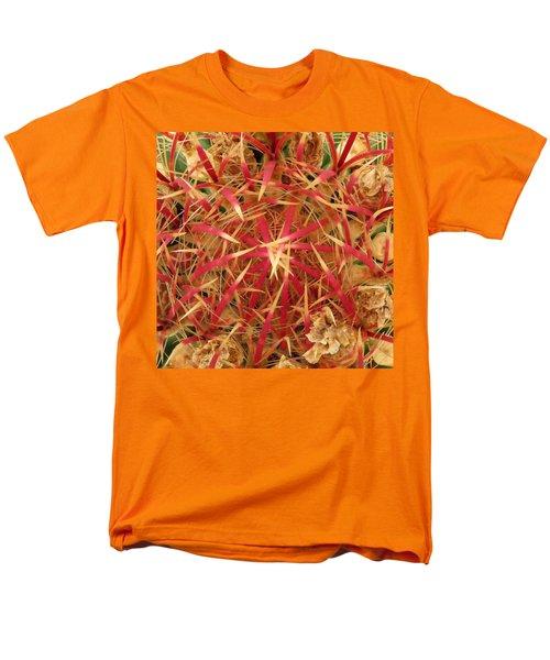 Barrel Cactus Men's T-Shirt  (Regular Fit) by Laurel Powell