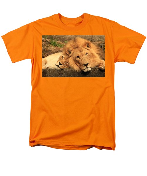 Best Friends For Life Men's T-Shirt  (Regular Fit) by Laddie Halupa