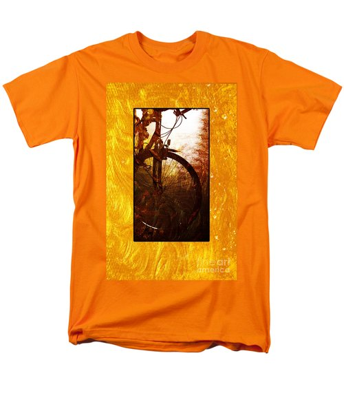Men's T-Shirt  (Regular Fit) featuring the photograph Bicycle  by Randi Grace Nilsberg
