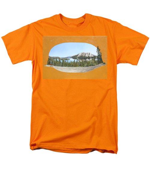 Bove Island Alaska Men's T-Shirt  (Regular Fit) by Wendy Shoults