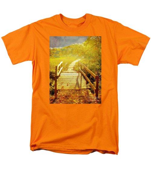 Bridge Into Autumn Men's T-Shirt  (Regular Fit) by Janette Boyd