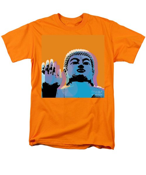 Buddha Pop Art - Warhol Style Men's T-Shirt  (Regular Fit) by Jean luc Comperat