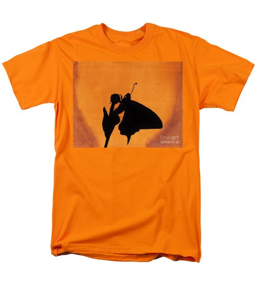 Men's T-Shirt  (Regular Fit) featuring the drawing Butterfly by D Hackett