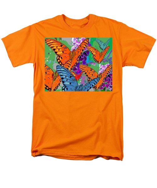 Butterfly Joy Men's T-Shirt  (Regular Fit) by Mary Armstrong