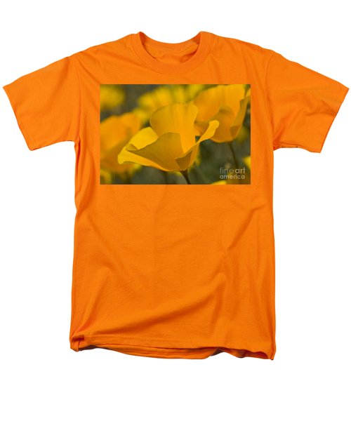 California Poppies Men's T-Shirt  (Regular Fit) by Bryan Keil