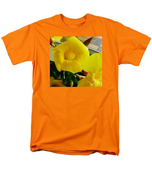 Canario Flower Men's T-Shirt  (Regular Fit) by The Art of Alice Terrill