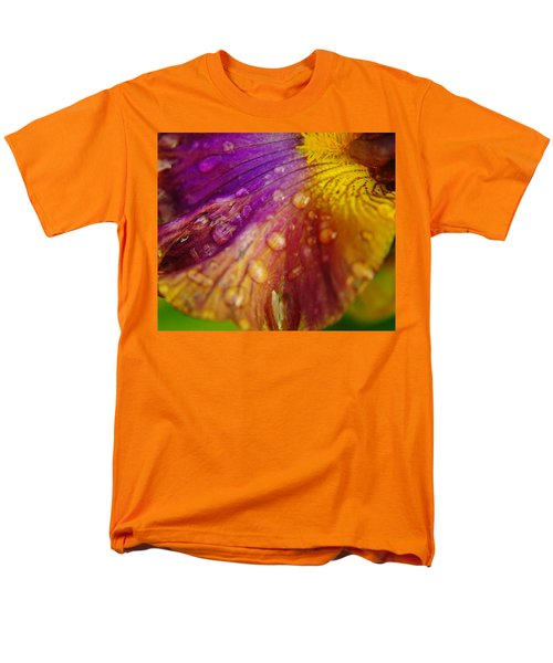 Color And Droplets Men's T-Shirt  (Regular Fit) by Jeff Swan