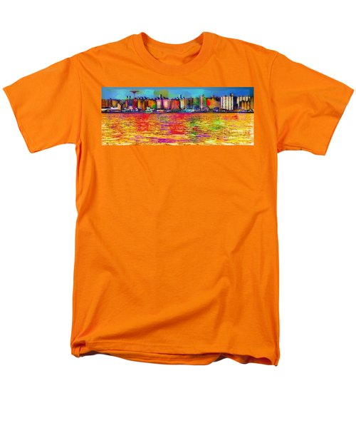 Colorful Coney Island Men's T-Shirt  (Regular Fit)