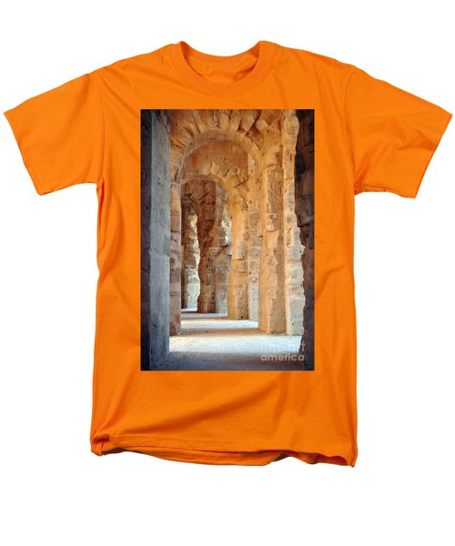 Men's T-Shirt  (Regular Fit) featuring the photograph Columns by Randi Grace Nilsberg