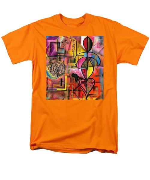 Compassionate Woman X2 Men's T-Shirt  (Regular Fit) by Everett Spruill