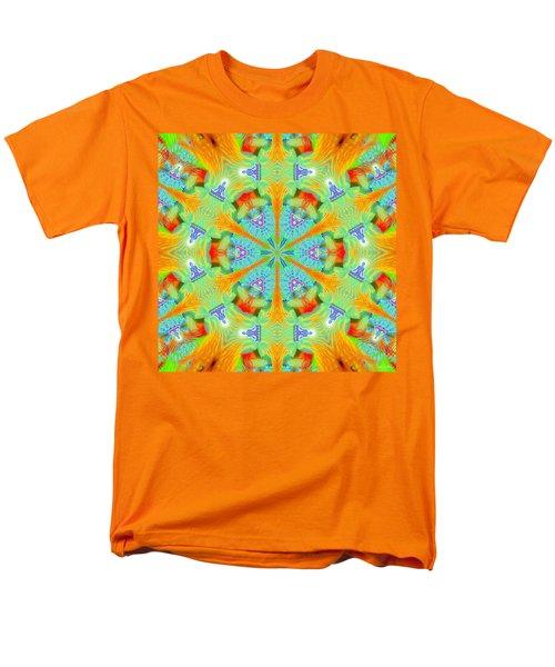 Cosmic Spiral Kaleidoscope 41 Men's T-Shirt  (Regular Fit)