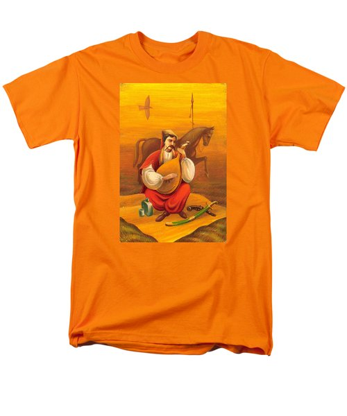 Cossack Mamay Men's T-Shirt  (Regular Fit) by Oleg Zavarzin