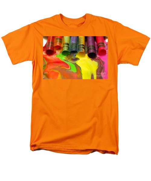 Crayon Cooperation Men's T-Shirt  (Regular Fit) by Margie Chapman