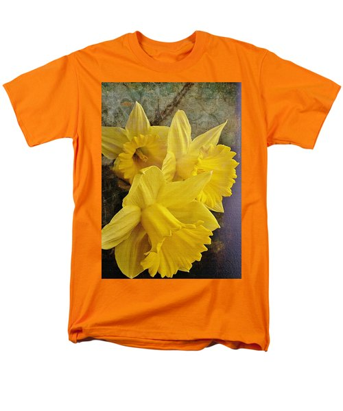 Men's T-Shirt  (Regular Fit) featuring the photograph Daffodil Burst by Diane Alexander