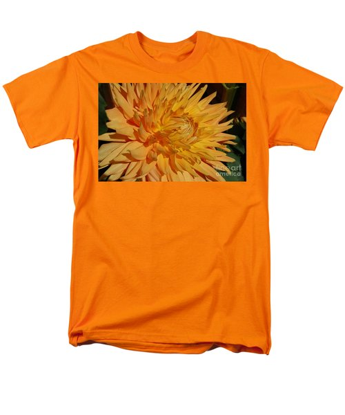 Men's T-Shirt  (Regular Fit) featuring the photograph Dahlia Xiii by Christiane Hellner-OBrien