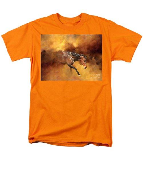 Dancing Free II Men's T-Shirt  (Regular Fit) by Michelle Twohig