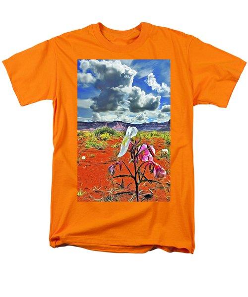 Desert Primrose 3 Men's T-Shirt  (Regular Fit) by William Horden
