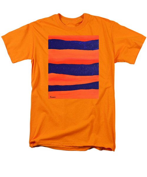 Desert Streams Men's T-Shirt  (Regular Fit) by Donna  Manaraze