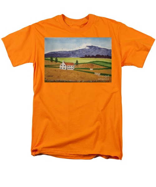 Men's T-Shirt  (Regular Fit) featuring the painting Distant Hills by John Williams