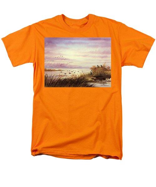 Duck Hunting Companions Men's T-Shirt  (Regular Fit) by Bill Holkham