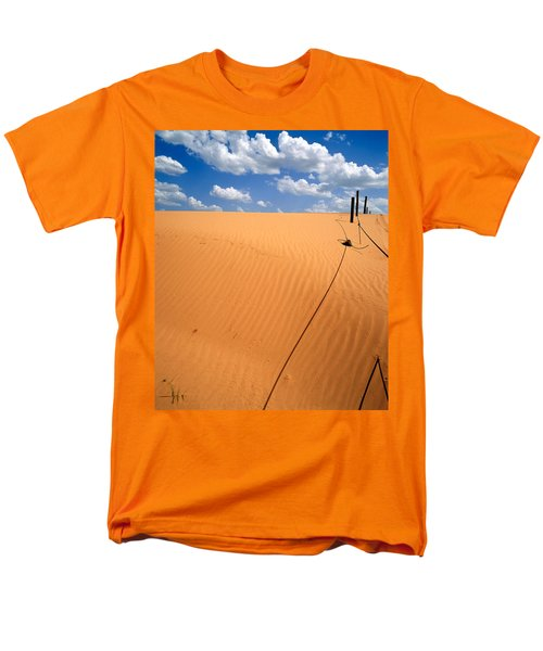 Dunes And Clouds Men's T-Shirt  (Regular Fit)