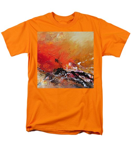 Men's T-Shirt  (Regular Fit) featuring the painting Emotion 2 by Ismeta Gruenwald