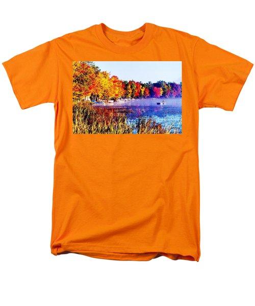 Men's T-Shirt  (Regular Fit) featuring the photograph Fall Splendor Of Mid-michigan by Daniel Thompson