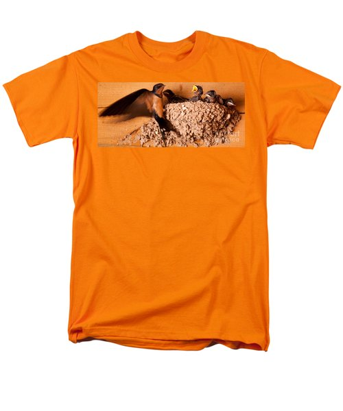 Feeding Time Men's T-Shirt  (Regular Fit) by Roselynne Broussard