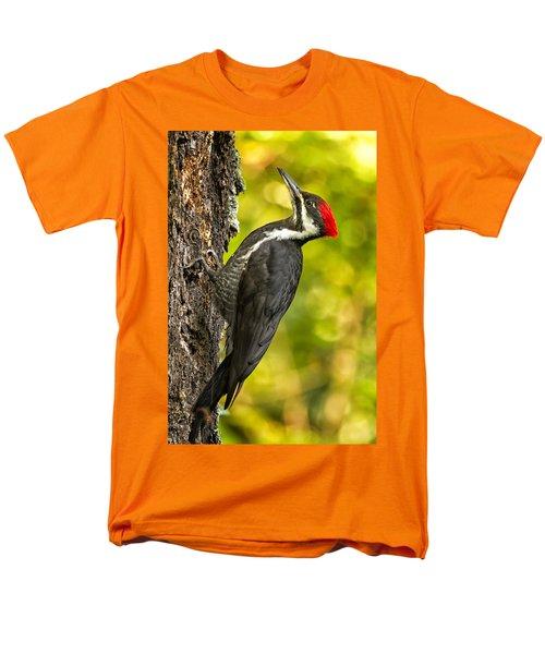 Female Pileated Woodpecker No. 2 Men's T-Shirt  (Regular Fit) by Belinda Greb