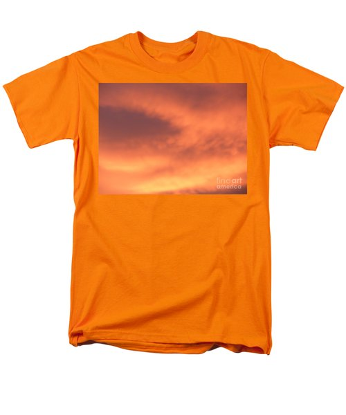 Fire Clouds Men's T-Shirt  (Regular Fit) by Joseph Baril
