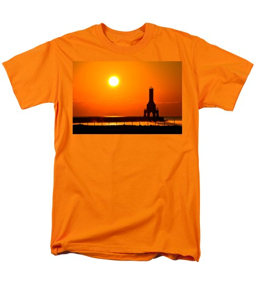 Fire Sky Men's T-Shirt  (Regular Fit) by James  Meyer