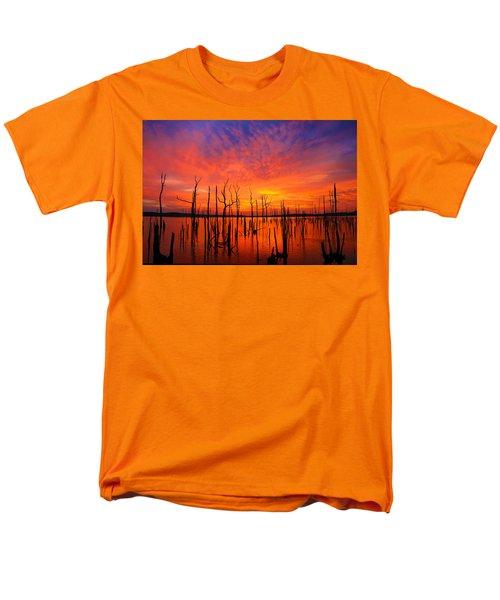 Fired Up Morn Men's T-Shirt  (Regular Fit) by Roger Becker