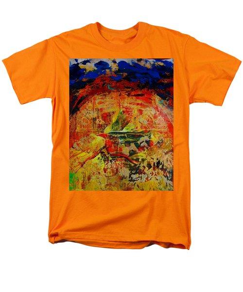 Free Bird Men's T-Shirt  (Regular Fit) by Jean Cormier